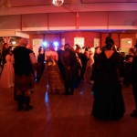 Steampunks dance at the Ball at the Asylum