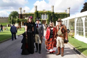 Four Steampunks at the Asylum