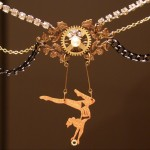 Trapeze artist necklace