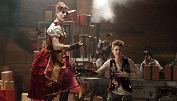 Steampunk Santa Claus Comes to Town video still