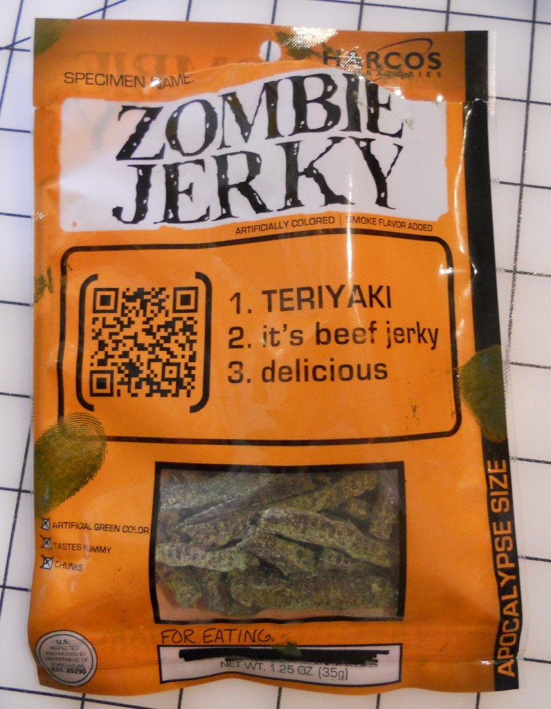 Zombie Jerky by Harcos Laboratories
