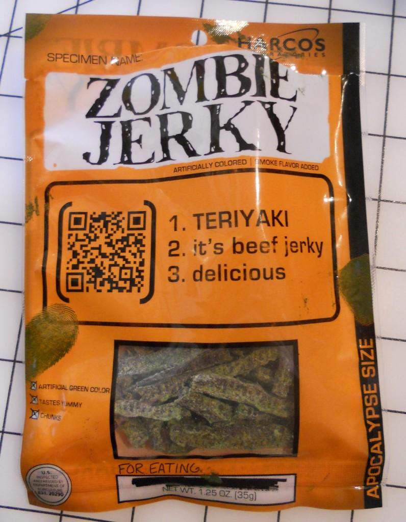 Zombie Jerky by Harcos Laboratories