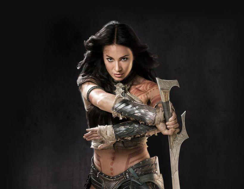 Dejah Thoris in warrior pose from John Carter Disney movie