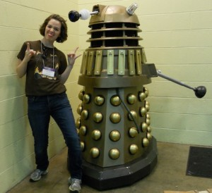 Life Size Dalek at Origins 2012