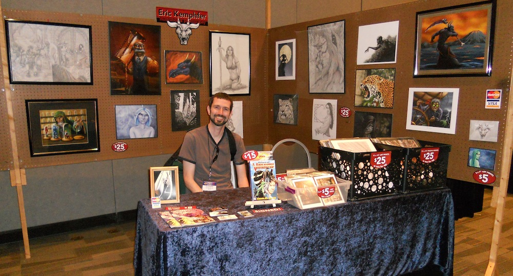 Art of Eric Kemphfer at Origins 2012