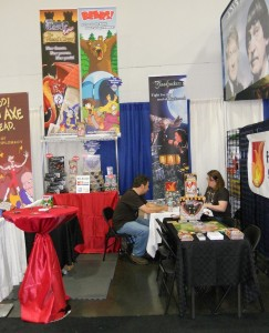 Fireside Games Booth at Origins 2012